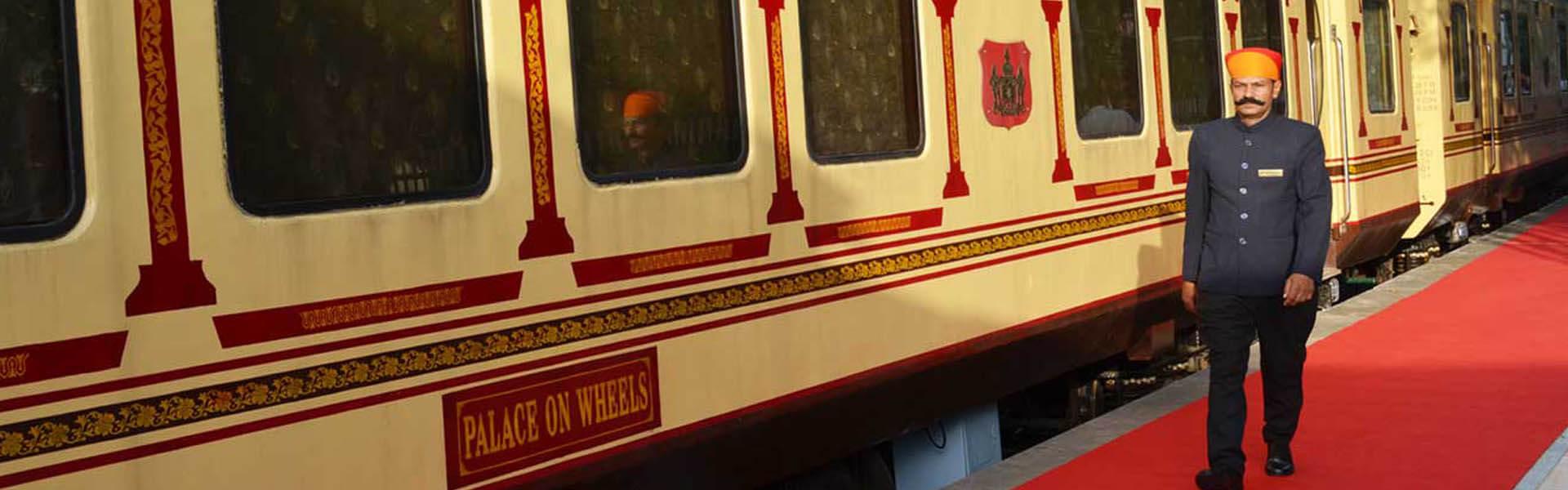 Palace on Wheels,luxury train india,luxury train journey in india
